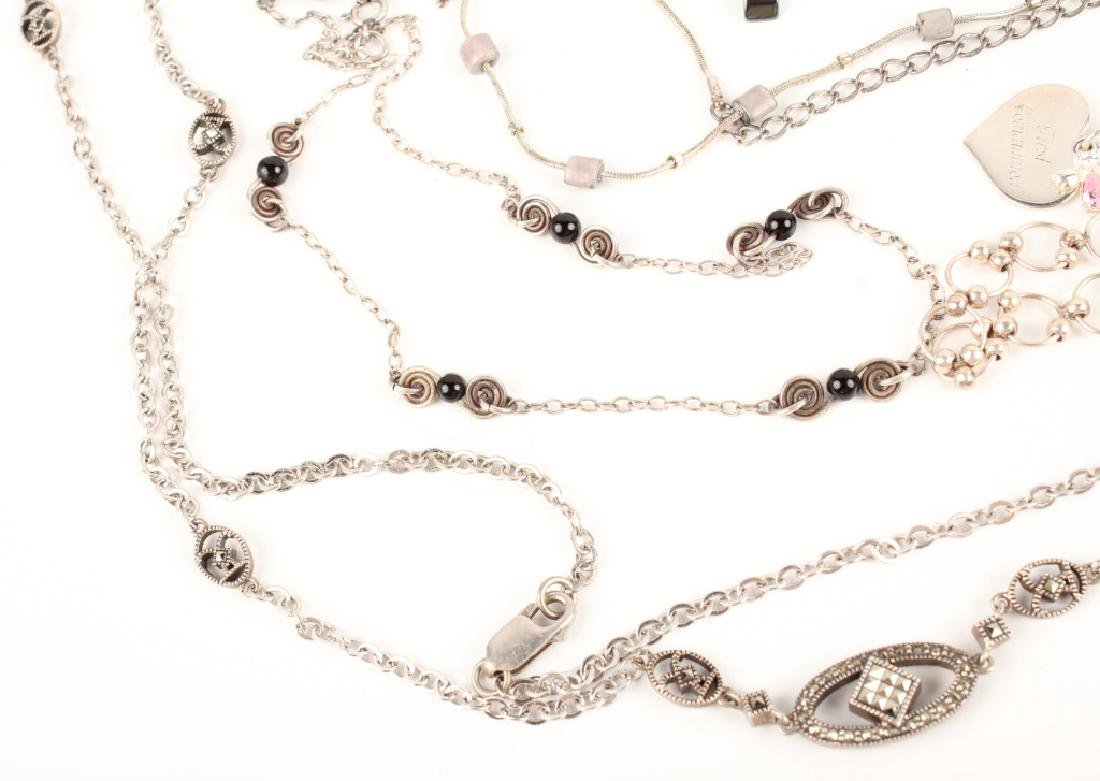 STERLING SILVER NECKLACES - 5