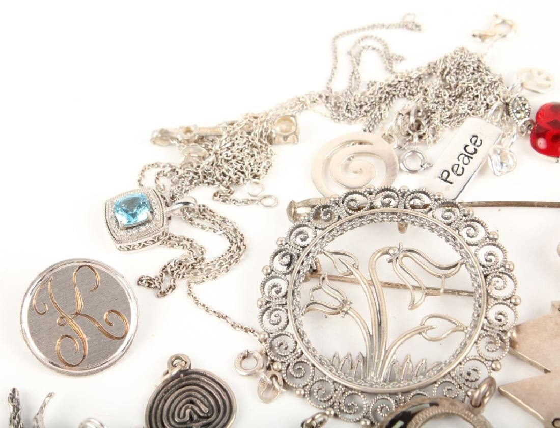 STERLING SILVER NECKLACES - 2