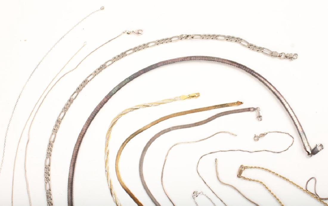 STERLING SILVER CHAINS & NECKLACES - 2