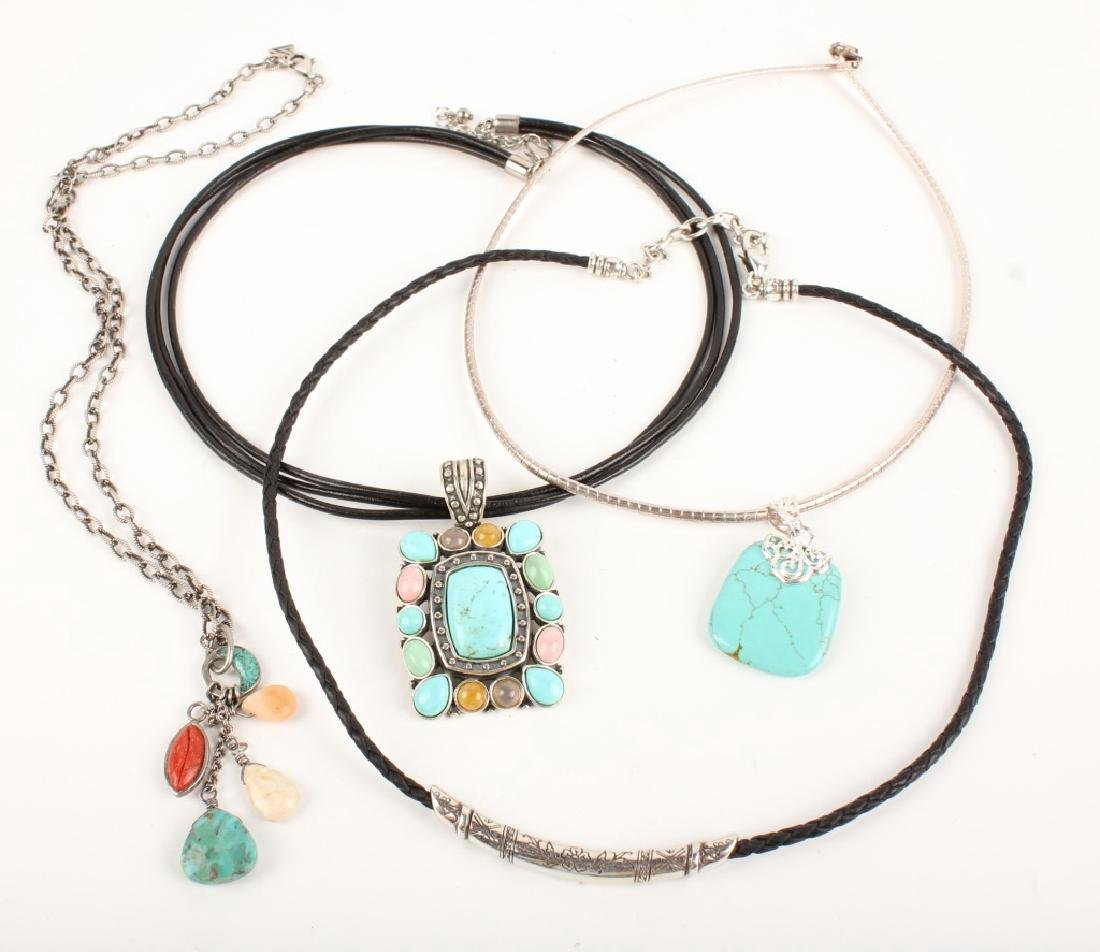 STERLING SILVER FASHION NECKLACES
