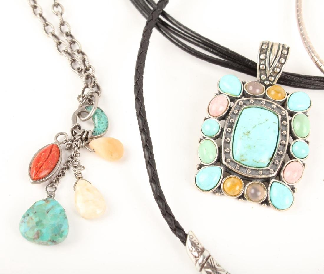 STERLING SILVER FASHION NECKLACES - 2