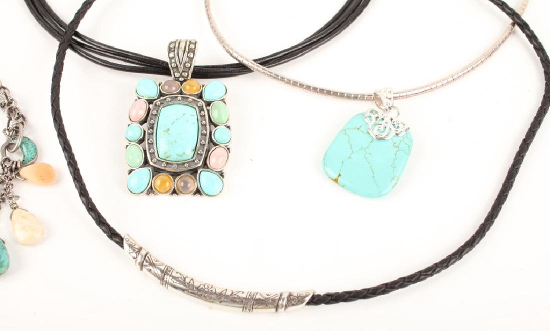 STERLING SILVER FASHION NECKLACES - 3