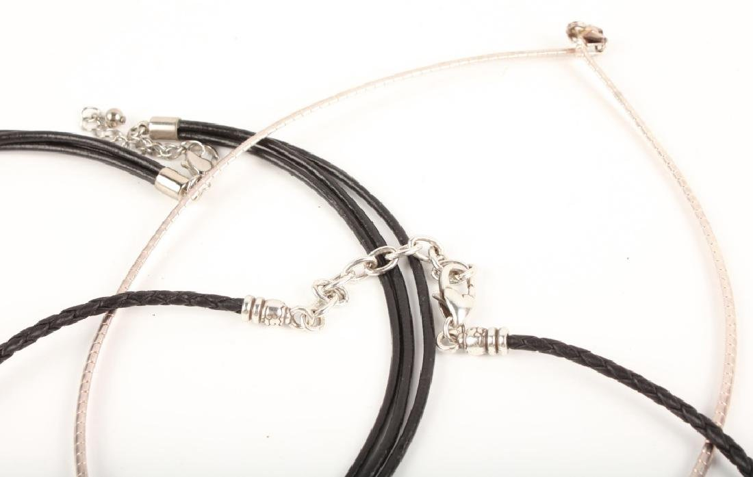 STERLING SILVER FASHION NECKLACES - 4