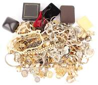 LARGE MIXED LOT OF COSTUME JEWELRY