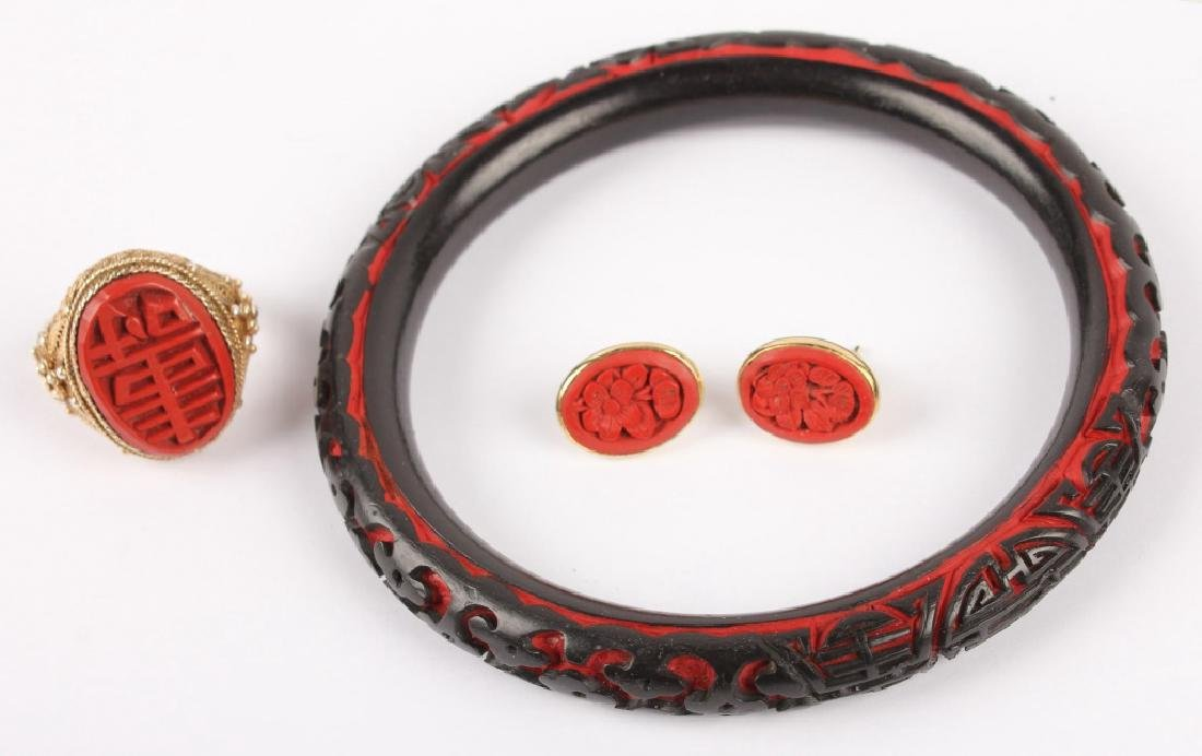 MIXED LADIES CINNABAR JEWELRY