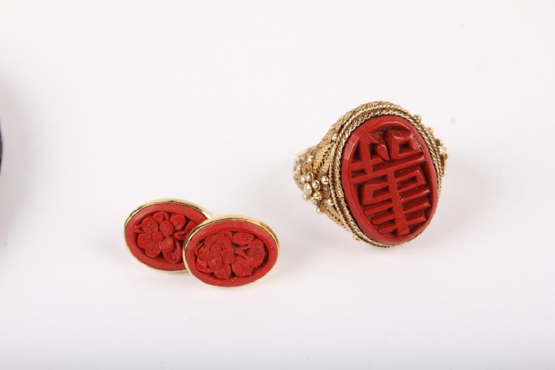 MIXED LADIES CINNABAR JEWELRY - 2