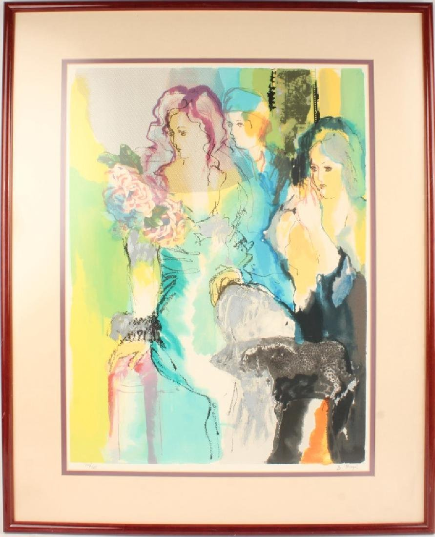 "BATIA MAGAL LIMITED EDITION ART PRINT ""GALA"""