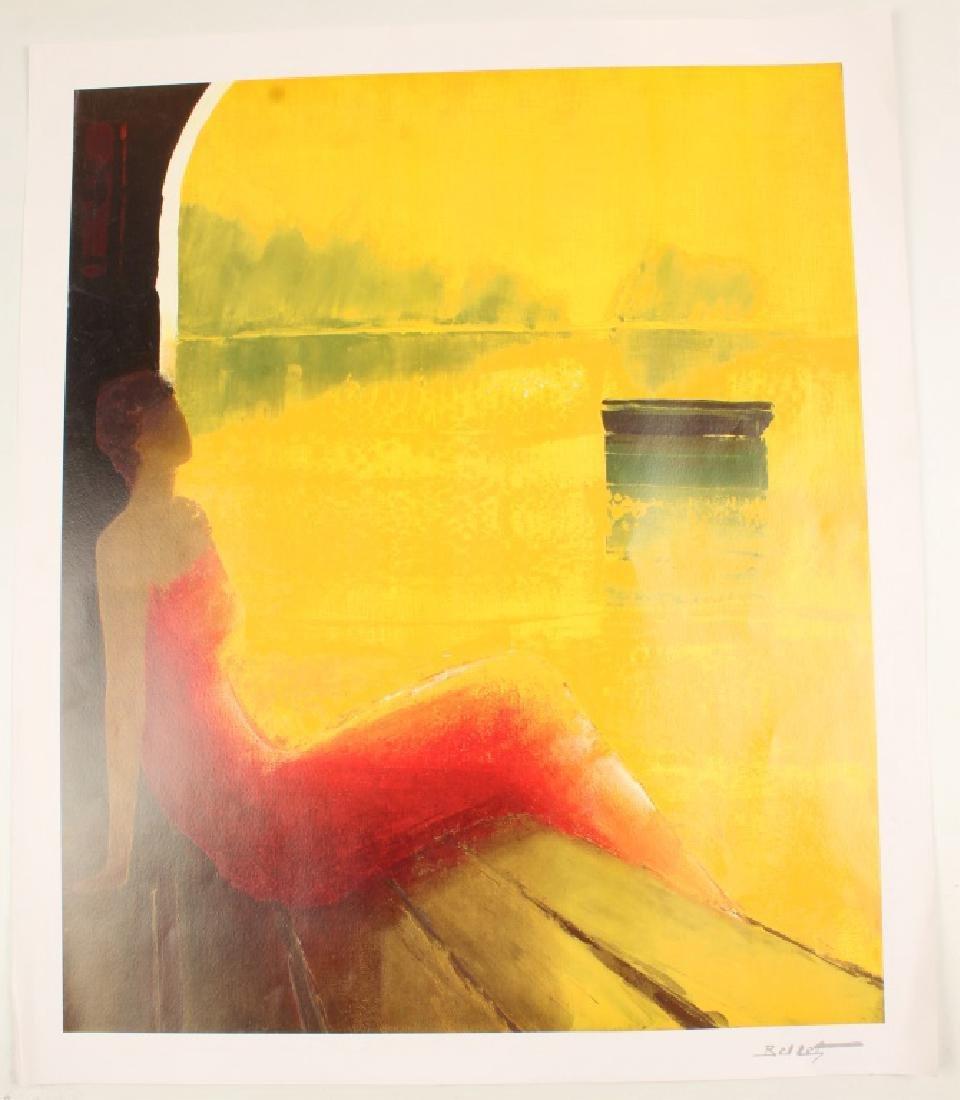 EMILE BELLET ART PRINT D'OR ET DE REVE