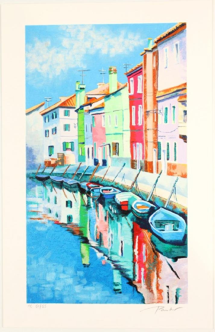 ALEX PAUKER LIMITED ART PRINT MORNING REFLECTIONS