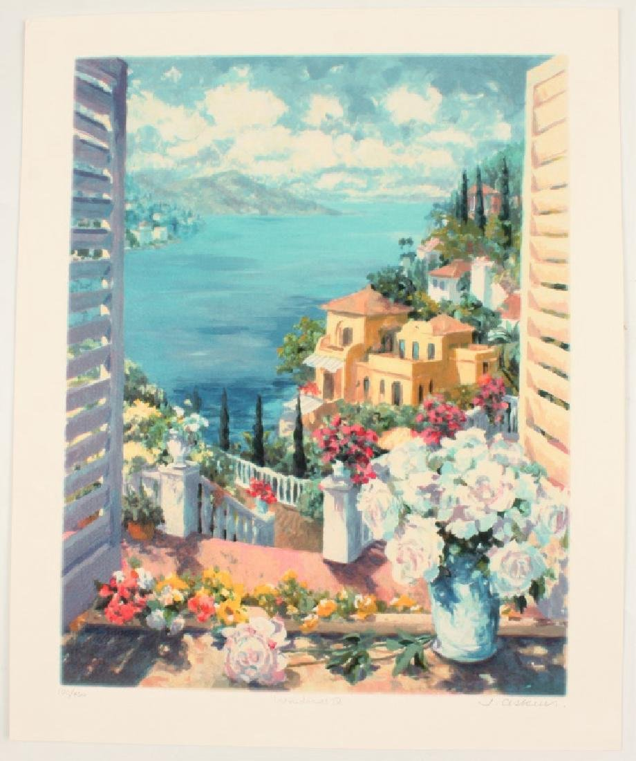 "JULIAN ASKINS LIMITED EDITION PRINT ""WINDOWS IV"""