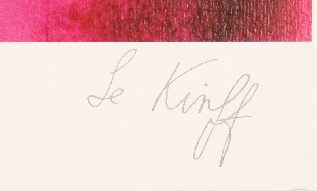 "LINDA LE KINFF SERIOLITHOGRAPH ""ACCORDS"" - 2"