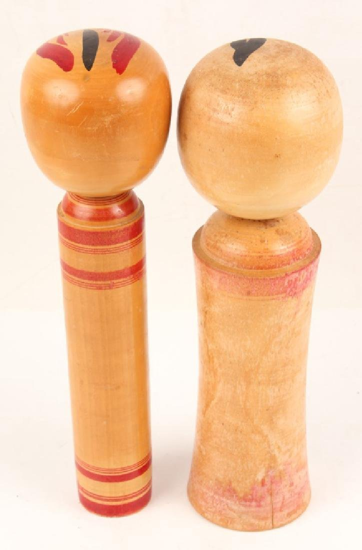 PAIR OF NARUKO KOKESHI DOLLS - 4