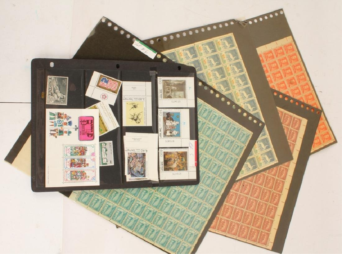 MIXED LOT OF 20TH CENTURY STAMPS