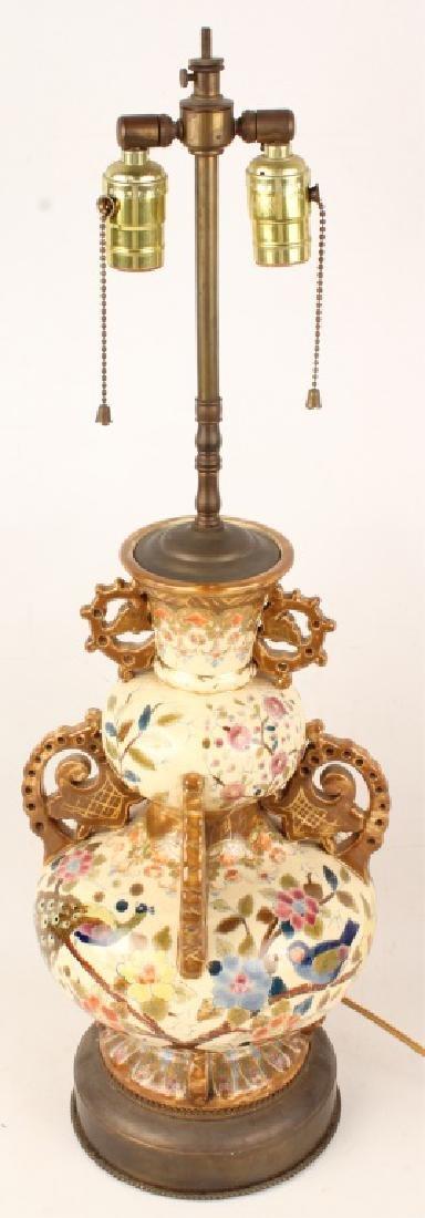 ORIENTAL PORCELAIN LAMP - 2