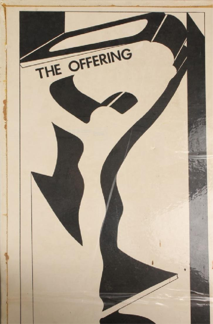 THE OFFERING BY GUS EDWARDS THEATRE POSTER