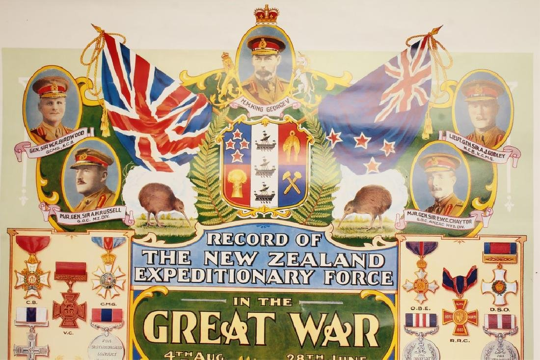 ARMY MUSEUM NEW ZEALAND EXPEDITIONARY FORCE POSTER - 2