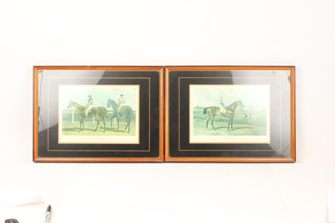 PAIR OF JOHN FREDERICK HERRING SR HORSE PRINTS