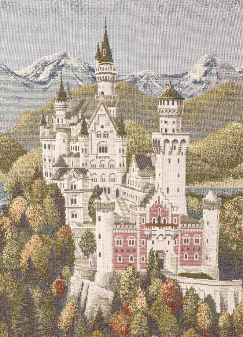 NEUSCHWANSTEIN CASTLE MACHINE MADE CROSS STITCH - 2