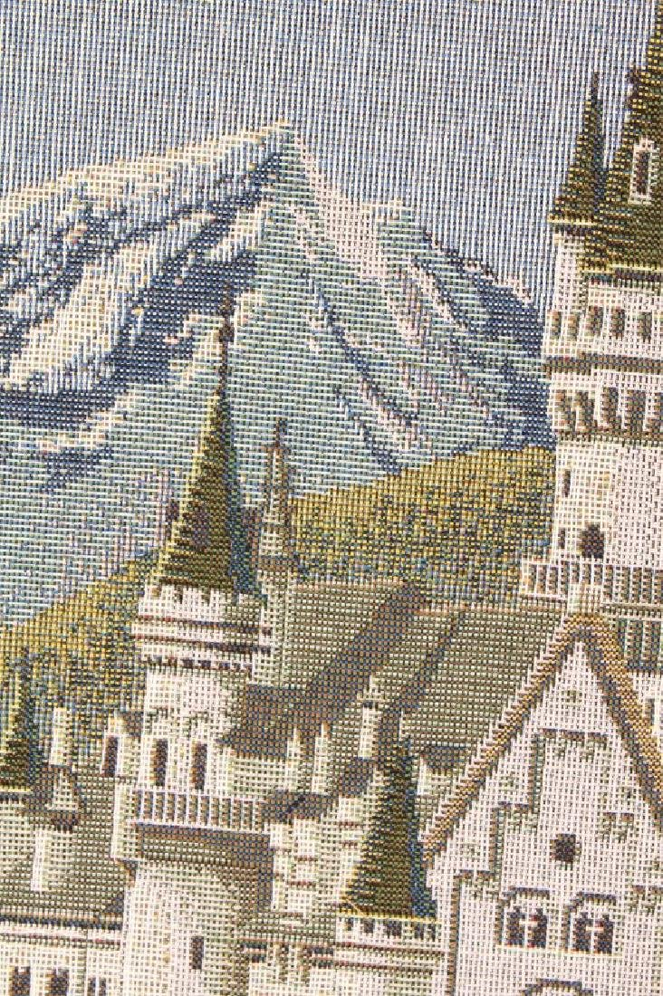NEUSCHWANSTEIN CASTLE MACHINE MADE CROSS STITCH - 3