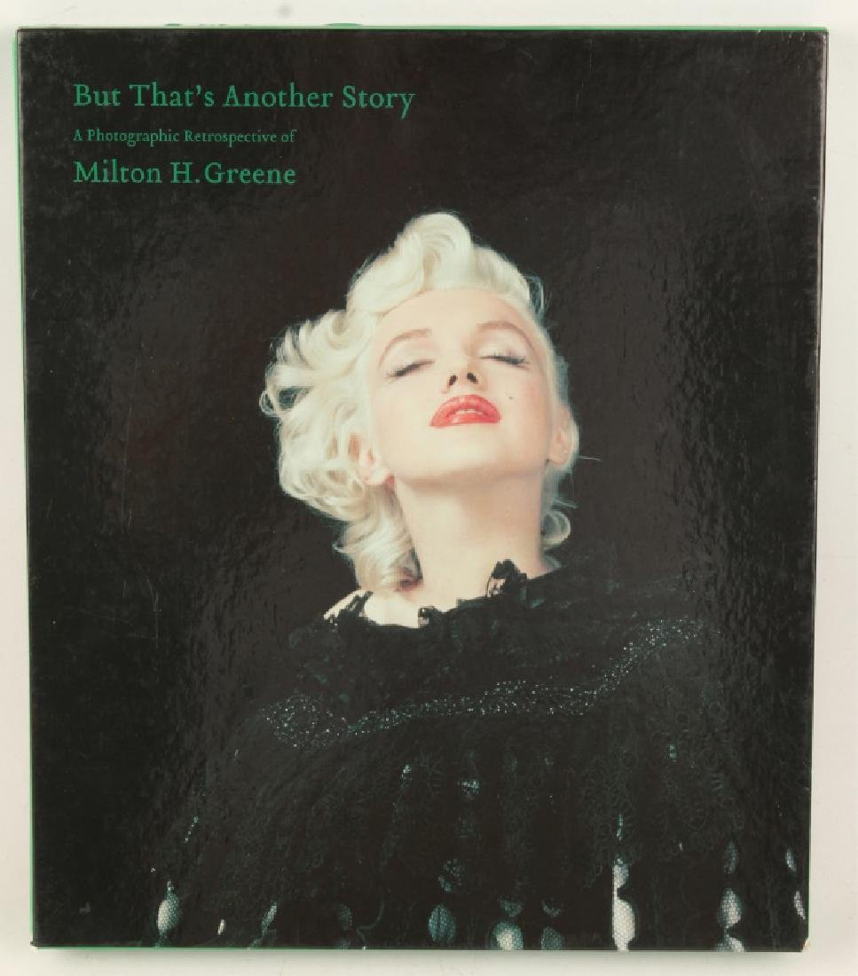"""MILTON H. GREENE BOOK """"BUT THAT'S ANOTHER STORY"""""""