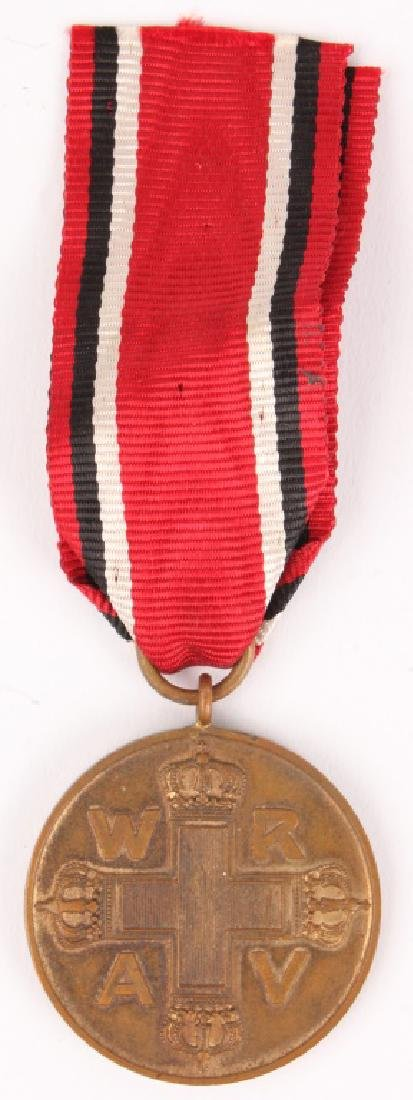 WWI PRUSSIAN RED CROSS MEDAL 3RD CLASS
