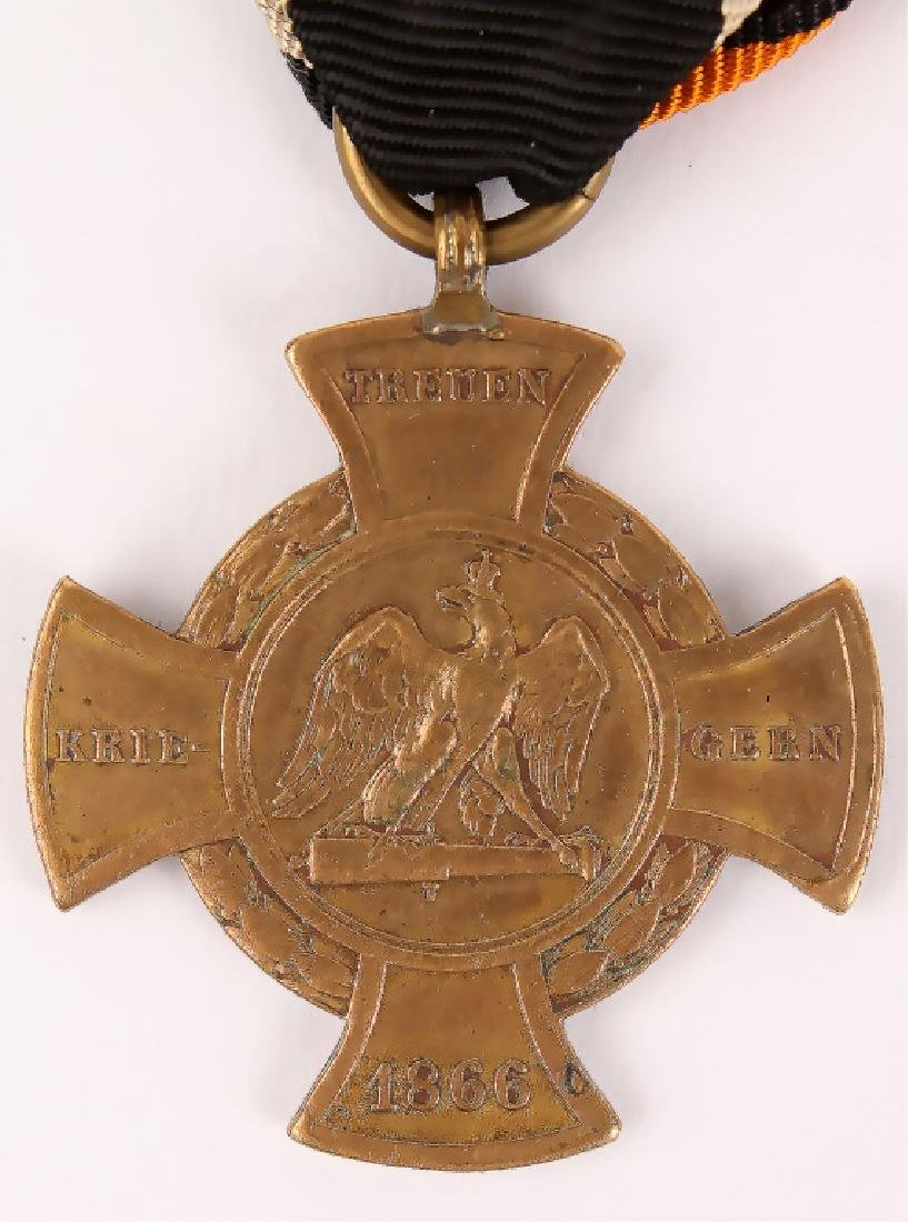 WWI PRUSSIAN KONIGGRATZ WAR SERVICE CROSS - 3