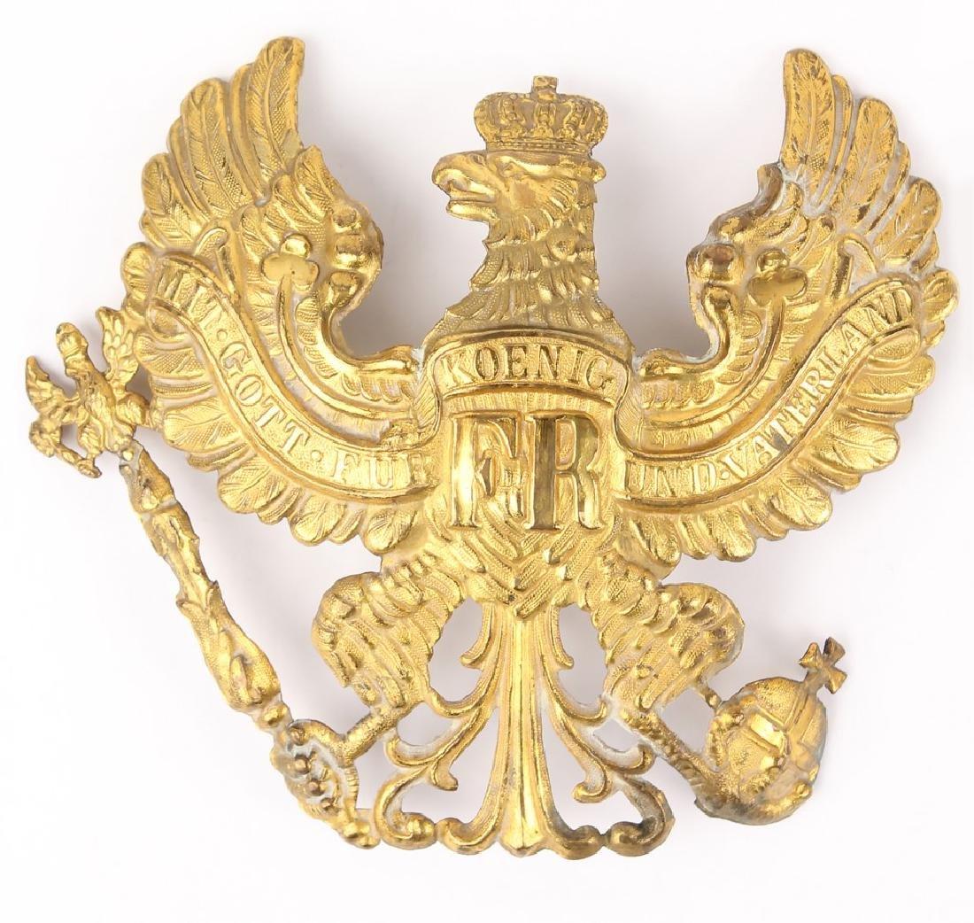 PRUSSIAN PICKELHAUBE HELMET INSIGNIA