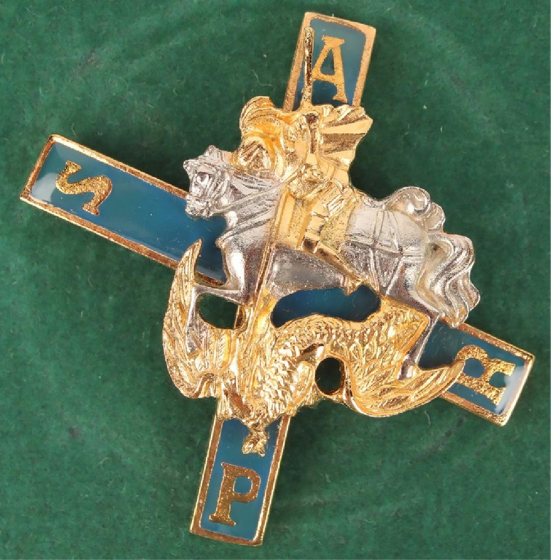 IMPERIAL RUSSIAN MILITARY MOSCOW REGIMENT BADGE