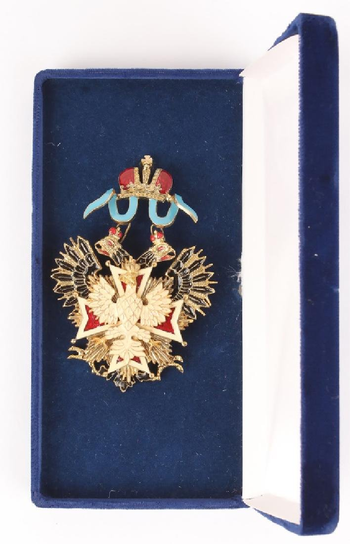 RUSSIAN BADGE OF THE ORDER OF WHITE EAGLE - 2
