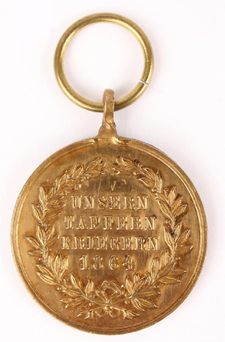 ROYAL PRUSSIAN DANISH CAMPAIGN MEDAL - 2