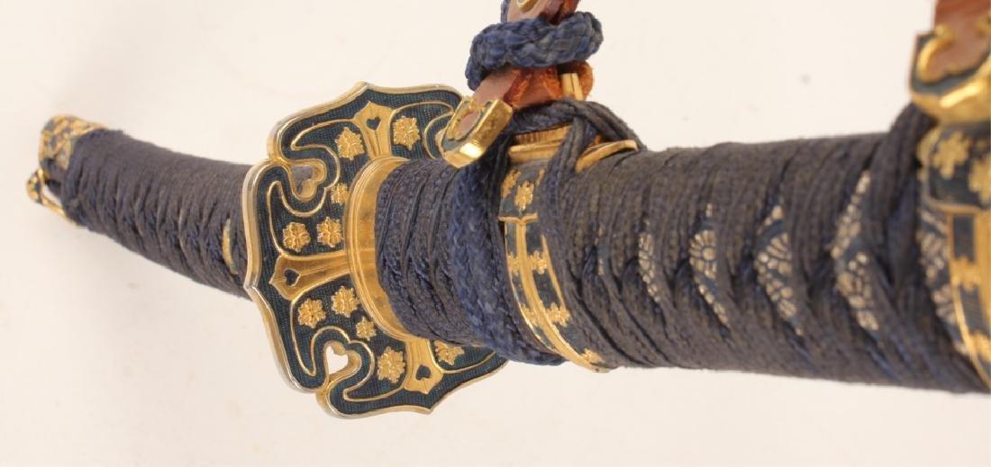20TH CENTURY JAPANESE KATANA SWORD WITH SHEATH - 4