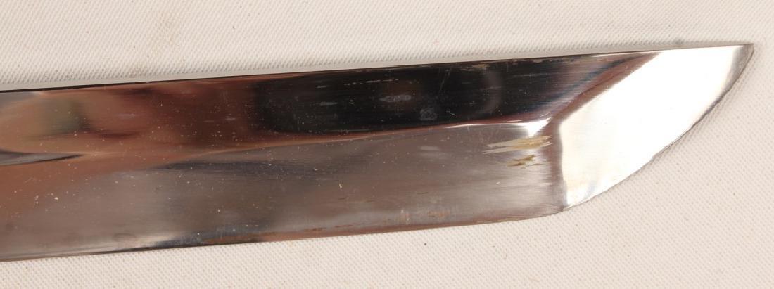 20TH CENTURY JAPANESE KATANA SWORD WITH SHEATH - 6