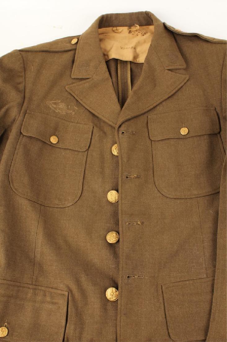 MEN'S MILITARY DRESS JACKETS - LOT OF 3 - 4