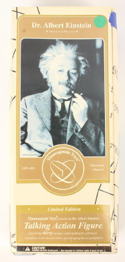 "ALBERT EINSTEIN 12"" TALKING ACTION FIGURE IN BOX"