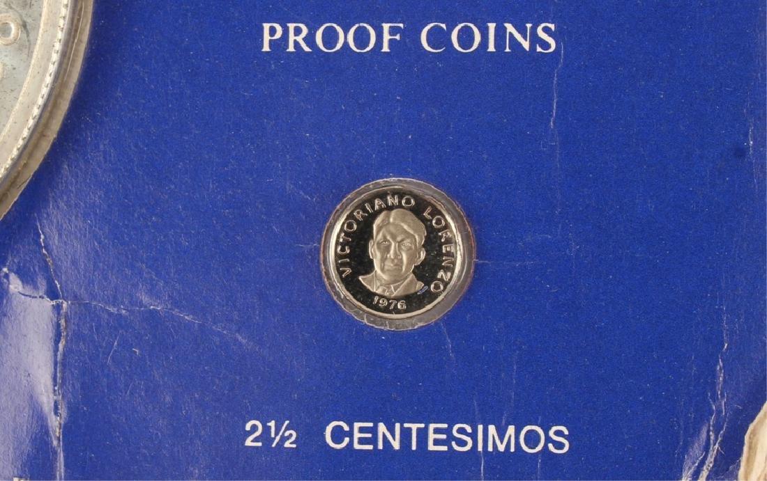 1976 SIMON BOLIVAR PANAMA 20 BALBOAS SILVER COIN - 3