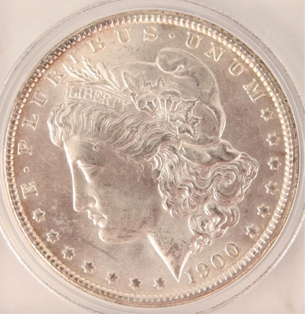 1900 SILVER MORGAN ONE DOLLAR COIN