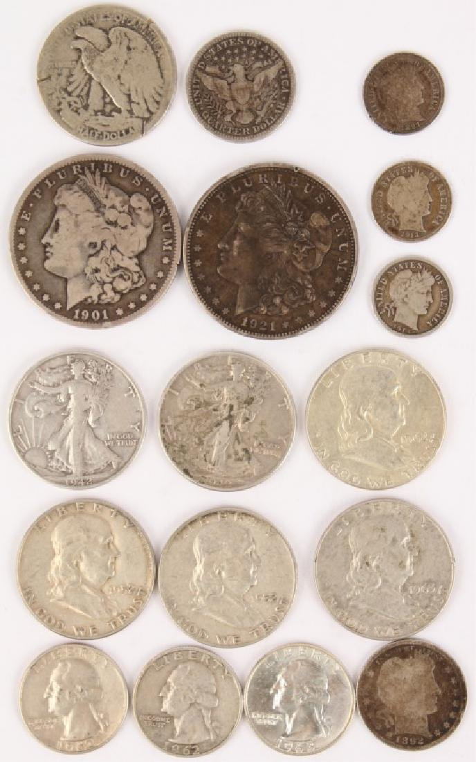 MIXED UNITED STATES 90% SILVER COINAGE LOT