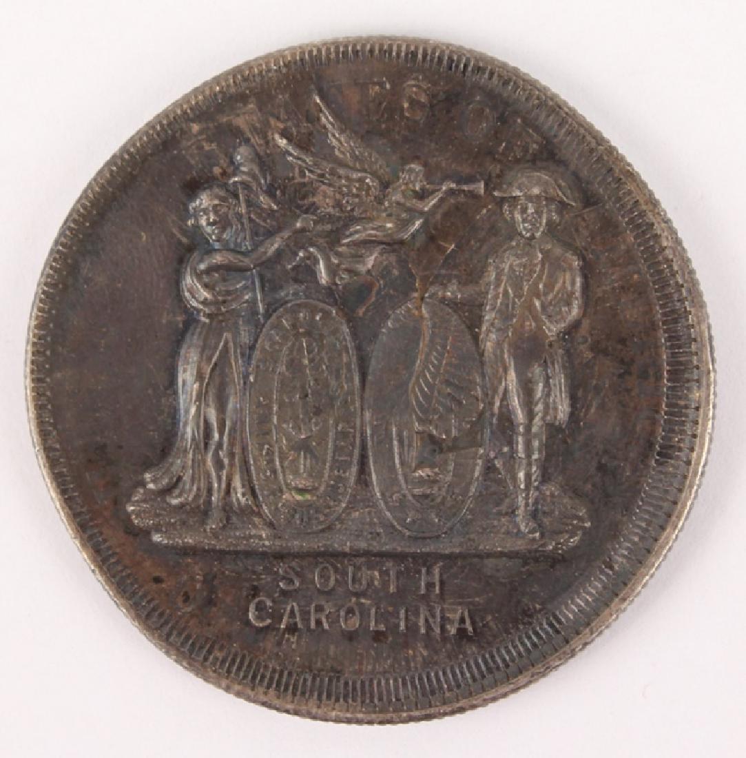 19TH C. SOUTH CAROLINA NEW HAVEN SILVER MEDAL