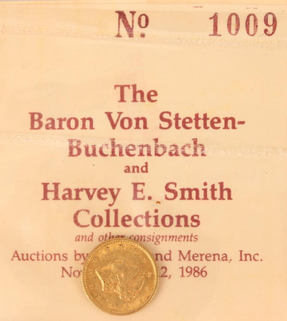 1853 UNITED STATES GOLD DOLLAR TYPE I