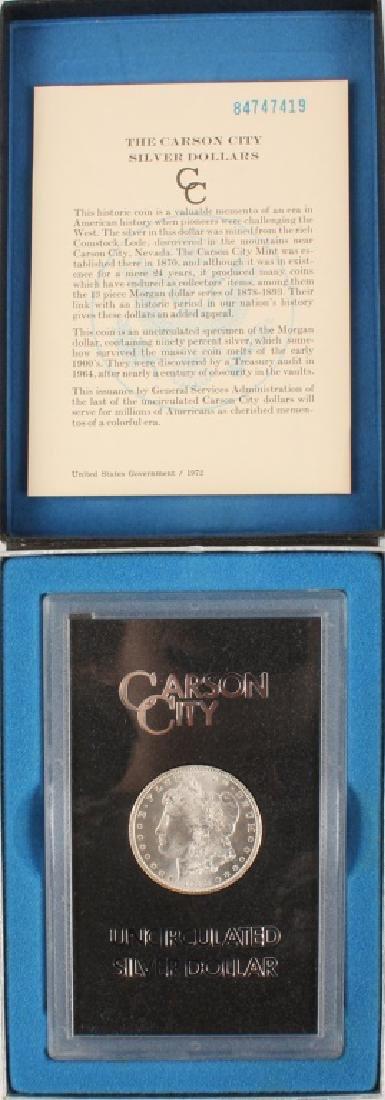 1884 CARSON CITY MORGAN SILVER DOLLAR