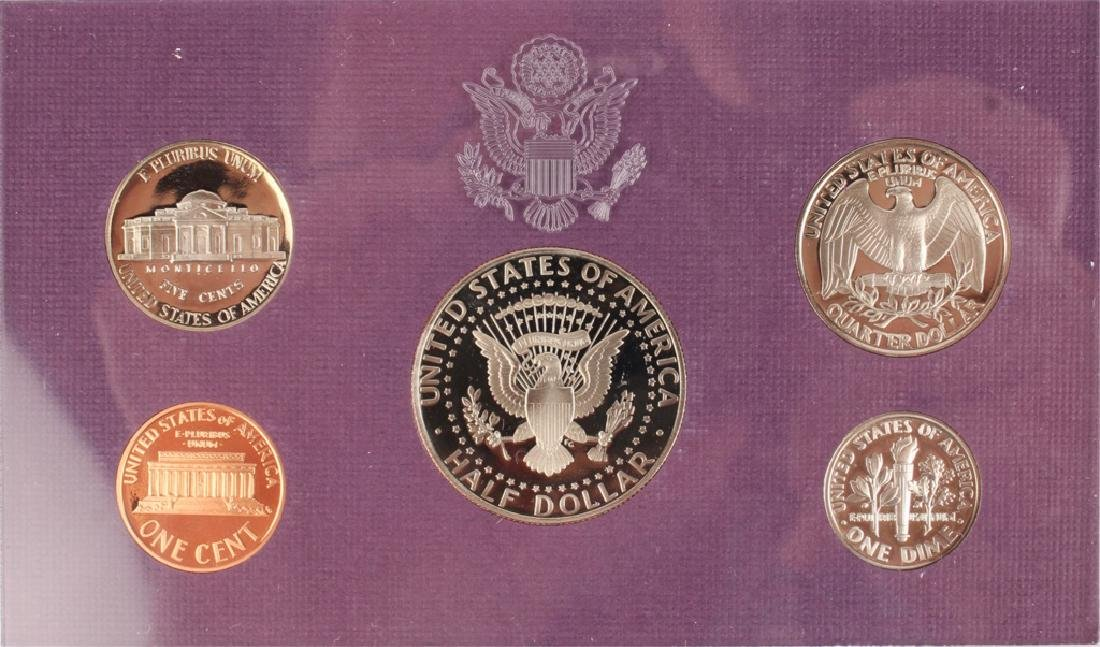 TWO 1993 UNITED STATES MINT PROOF SETS