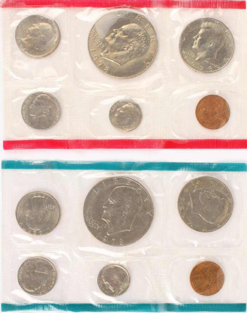 1978 US MINT UNCIRCULATED COINS