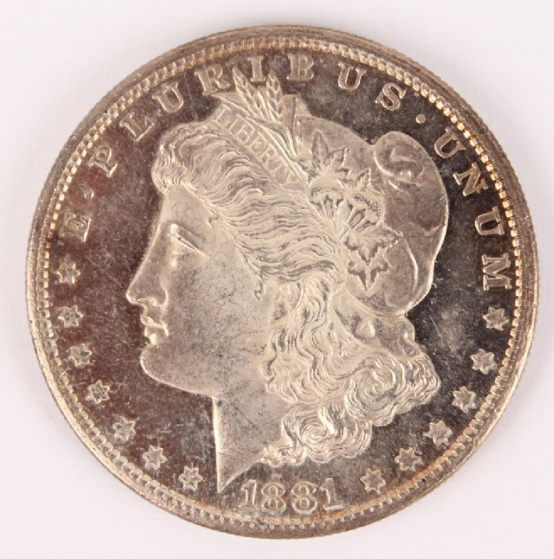 1881 S MORGAN SILVER DOLLAR HIGH GRADE