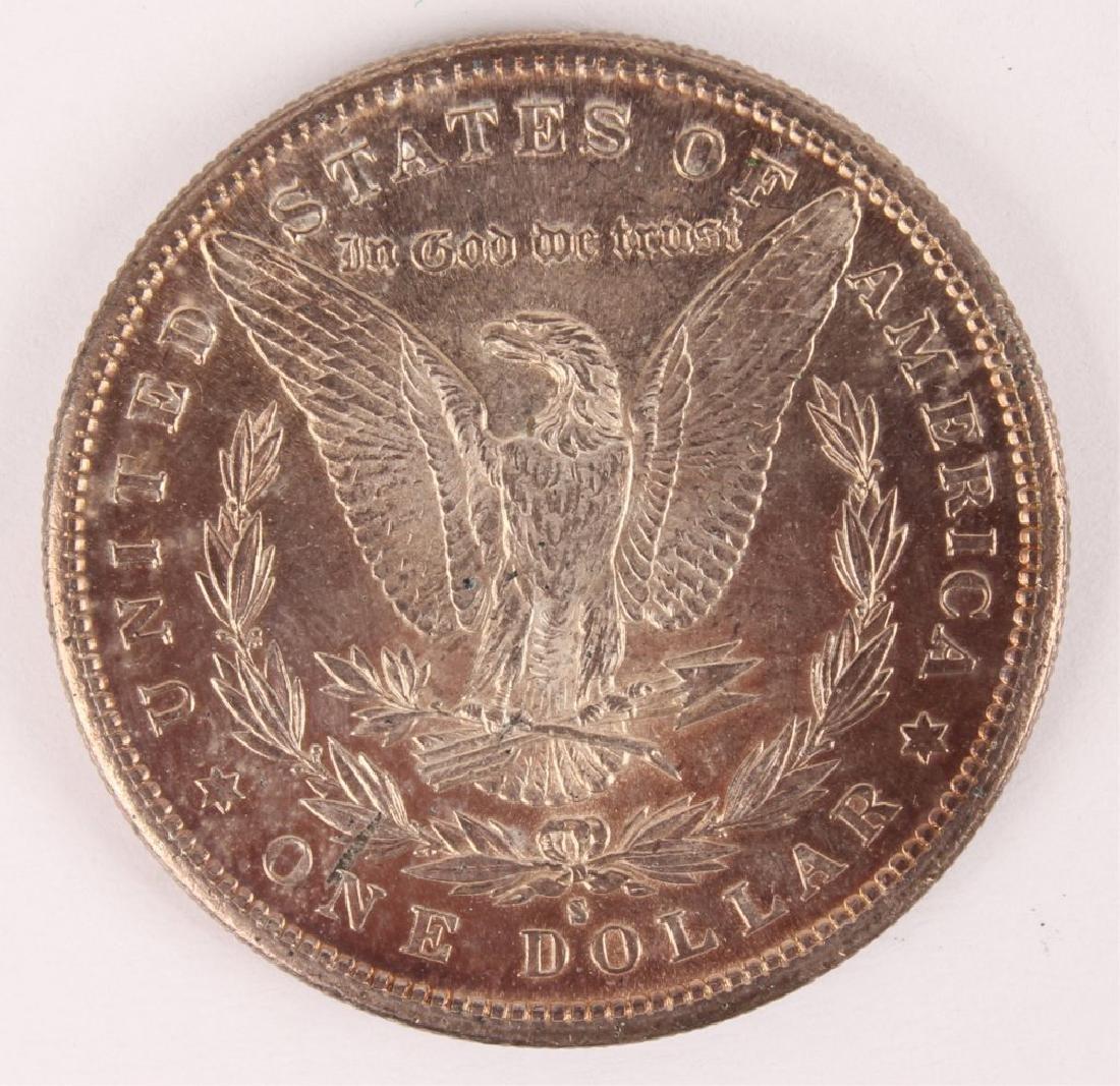 1881 S MORGAN SILVER DOLLAR HIGH GRADE - 2