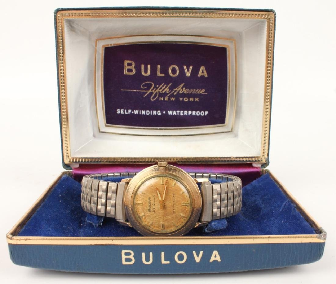 BULOVA  FIFTH AVENUE SELF-WINDING WRISTWATCH