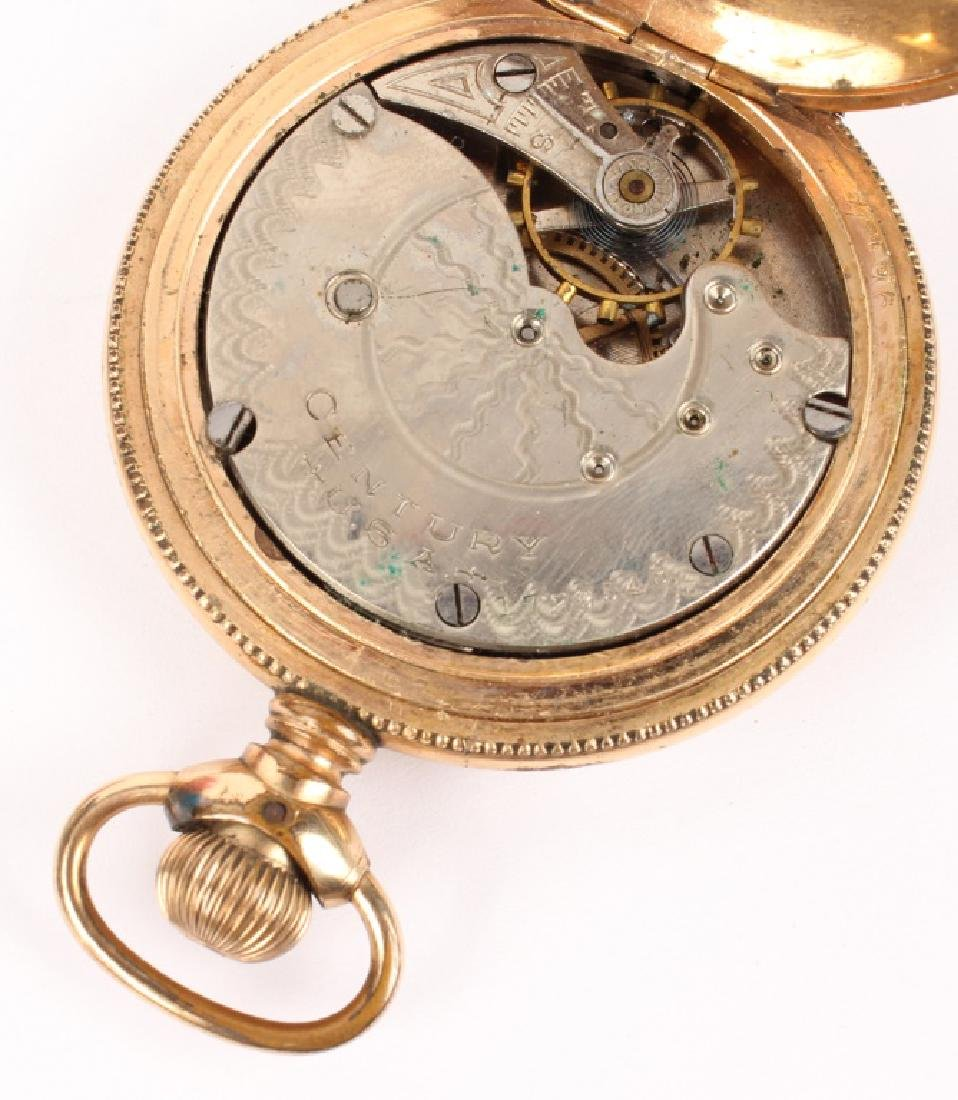 GOLD FILLED & GOLD PLATED POCKET WATCHES LOT OF 2 - 3