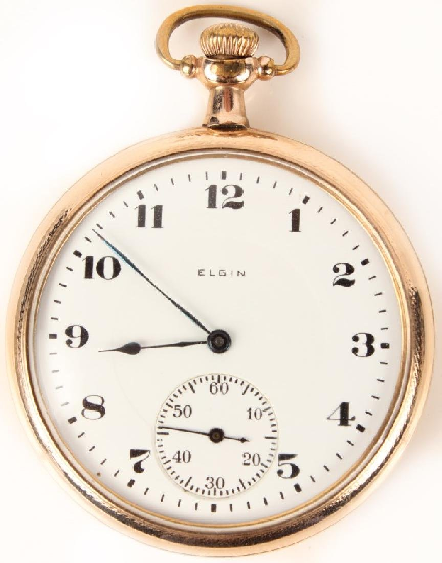 ELGIN WATCH CO. 17 JEWEL POCKET WATCH