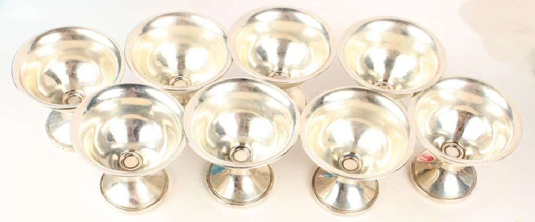 STERLING SILVER WEIGHTED SORBET CUPS - LOT OF 8