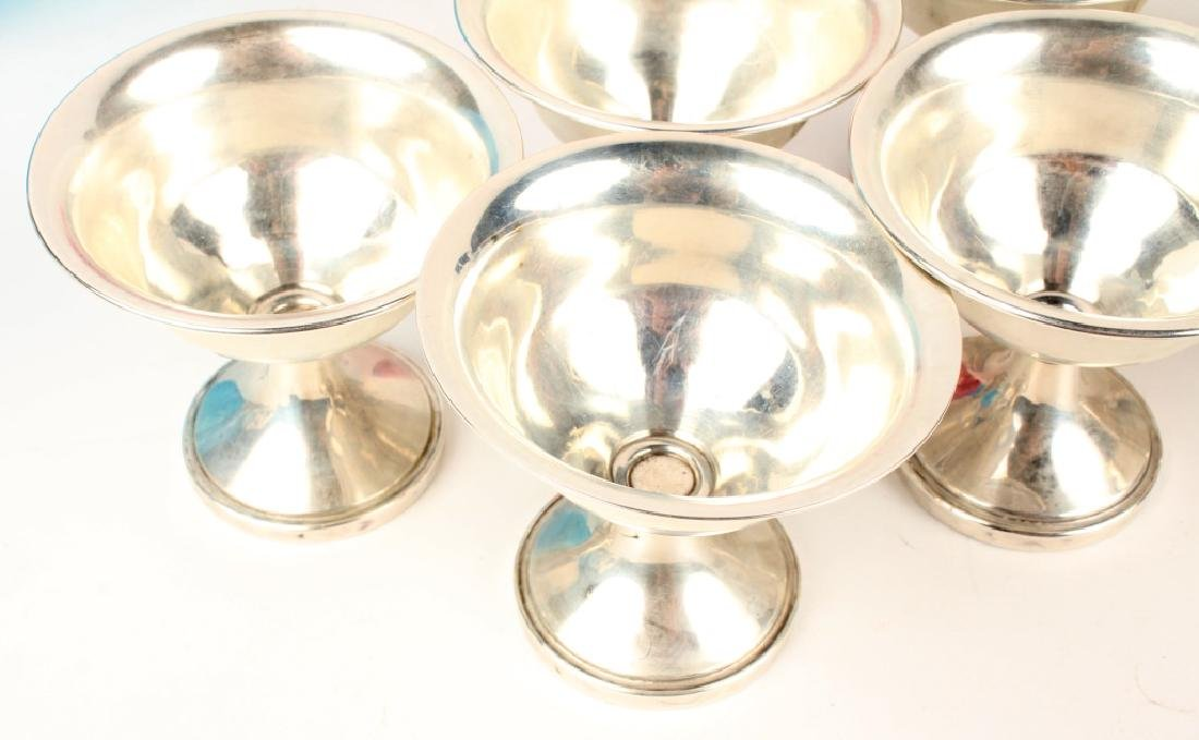 STERLING SILVER WEIGHTED SORBET CUPS - LOT OF 8 - 2