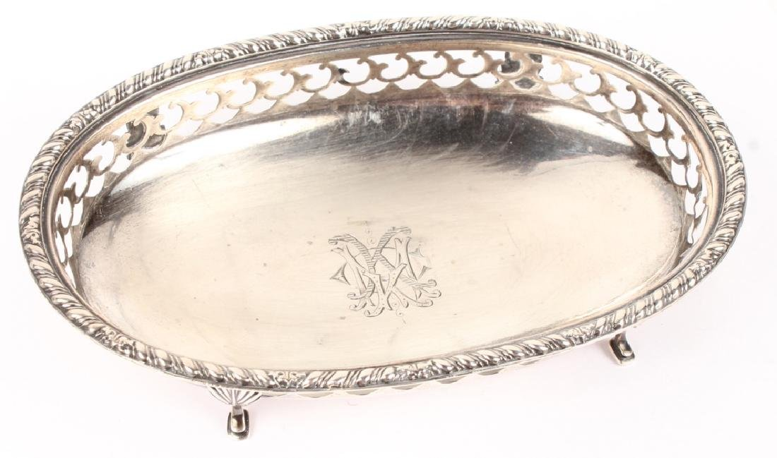 GORHAM STERLING SILVER RETICULATED DISH